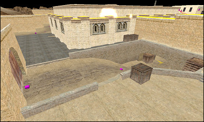 de_dust_pcg screenshot, 8th Feb 2005